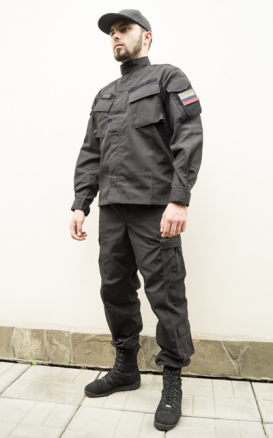 Uniform Combat, Black